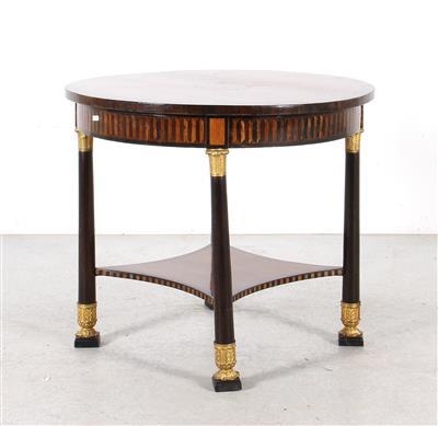 kleiner runder tisch im empire stil m bel und dekorative kunst erzielter preis