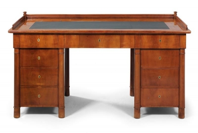 Biedermeier writing desk, - Furniture and decorative art
