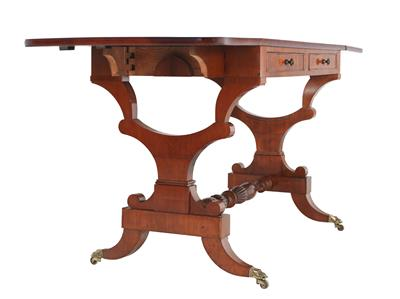 Small salon or work table, - Furniture