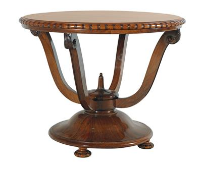 Round Art Deco Salon Table Furniture, Deco Salon Furniture