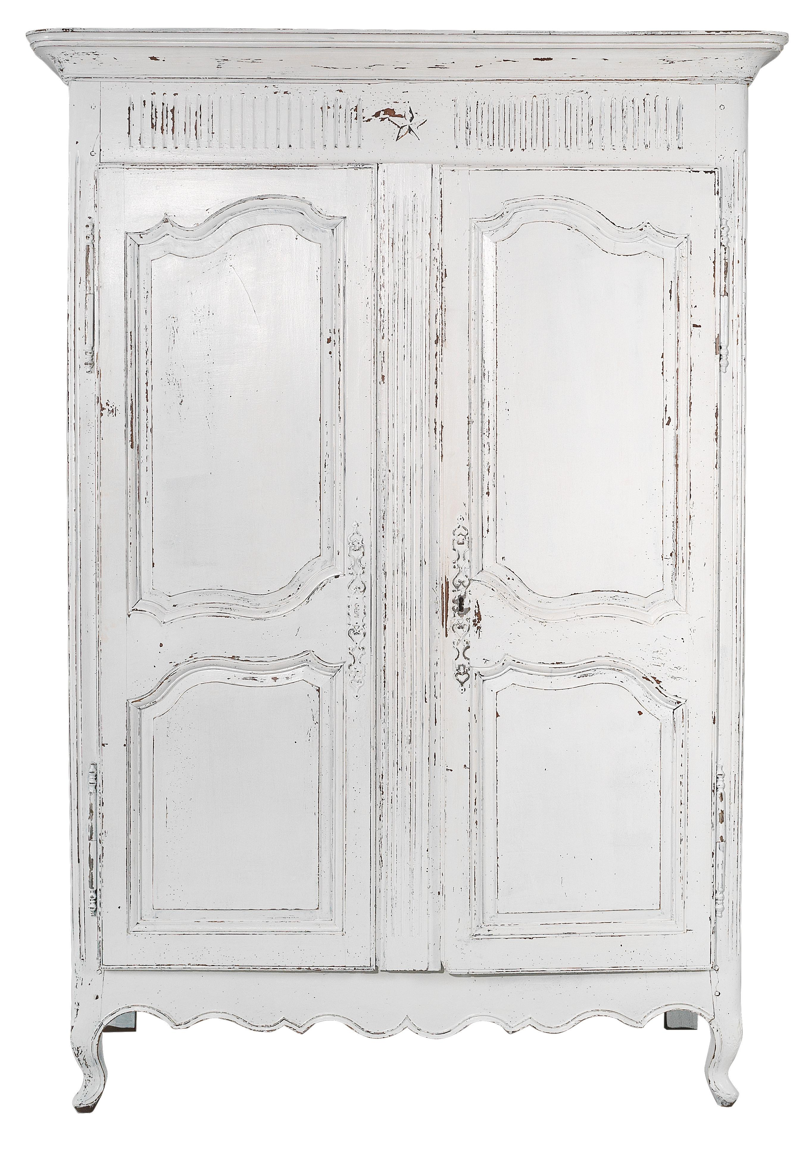 Original French Cabinet In Shabby Chic Furniture And