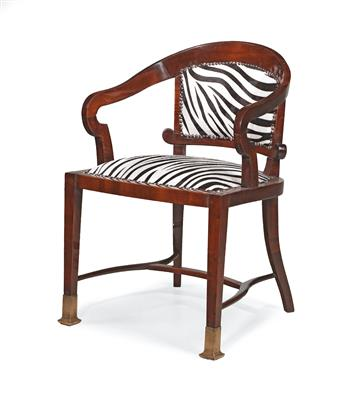Art Nouveau armchair, - Furniture and Decorative Art