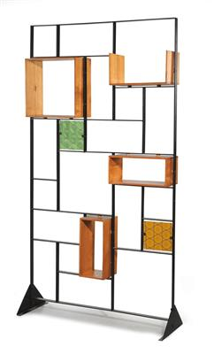 Bookcase or room divider, - Furniture and Decorative Art