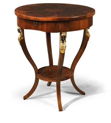 A round side table, - Furniture and Decorative Art