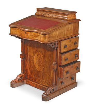 A writing desk, - Mobili e arti decorative