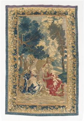Tapestry, Brussels, c. 242 x 162 cm, - Oriental Carpets, Textiles and Tapestries