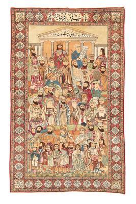 Kirman Meshehir, Iran, ca. 232 x 143 cm,