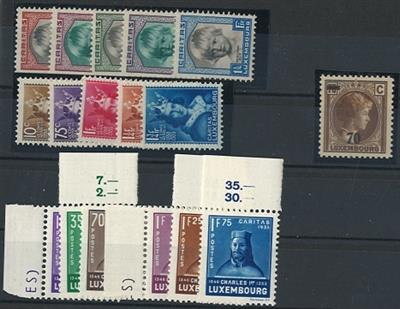 ** - Luxemburg Nr. 240/44, - Stamps