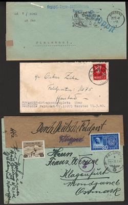 Poststück - D.Reich inkl. Ostmark,