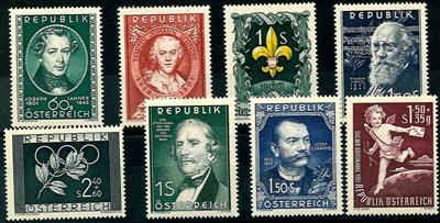 * - Österr.   ANK Nr. 981/88, - Stamps