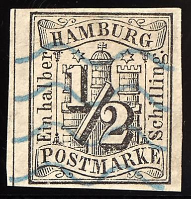 gestempelt - Hamburg Nr. 1,