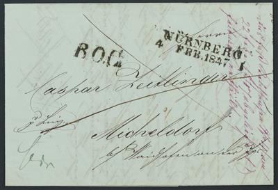 Poststück - 19 meist vorphil. Briefe