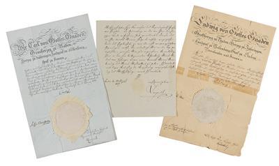Autographen, Handschriften, Urkunden
