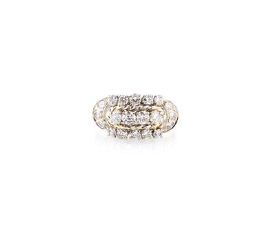 Diamantring zus. ca. 1,80 ct - Jewellery