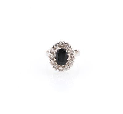 Brillant Saphir Ring