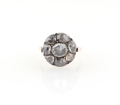 Diamantrauten Ring zus. ca. 1,50 ct
