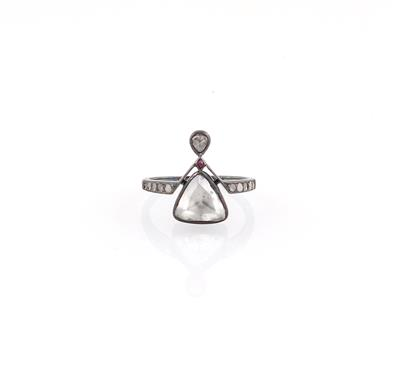 Diamantring zus. ca. 1 ct