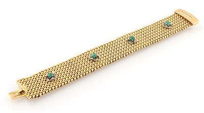 Brillant Smaragd Armband