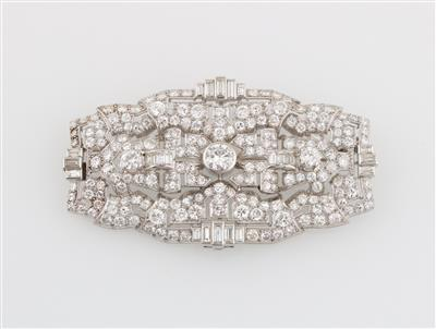 Diamantbrosche zus. ca. 13 ct - Diamonds Only