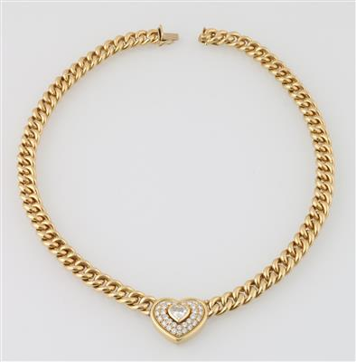 Diamantcollier zus. ca.1,20 ct - Diamonds Only