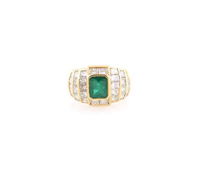 Diamantring zus. ca. 4,00 ct - Schmuck