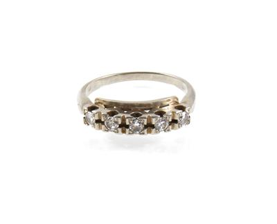 Brillantring zus. ca. 0,35 ct - Schmuck Onlineauktion