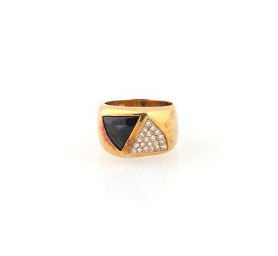 Brillant Saphir Ring