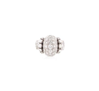 Diamantring zus. ca. 1,40 ct - Schmuck