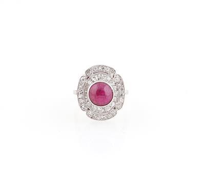 Diamant Rubin Ring