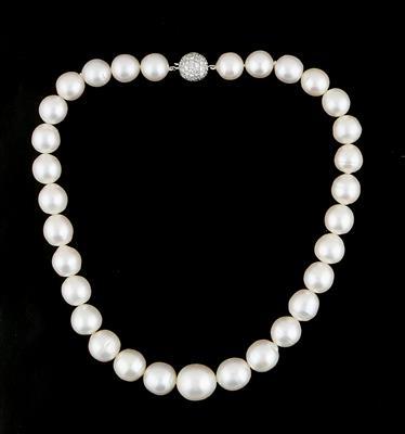 Kulturperlen Halskette