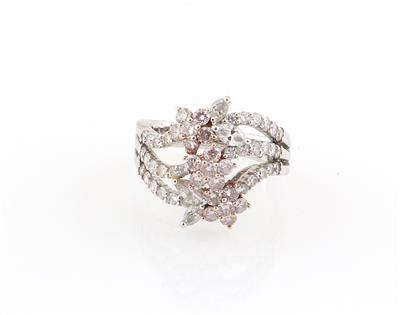Diamantring zus. ca. 2,21 ct - Jewellery