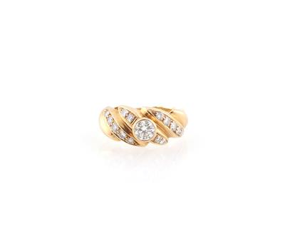 Brillantring zus. ca. 0,95 ct - Jewellery