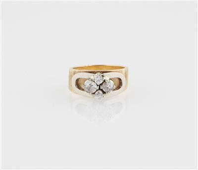 Diamantring zus. ca. 0,45 ct - Schmuck