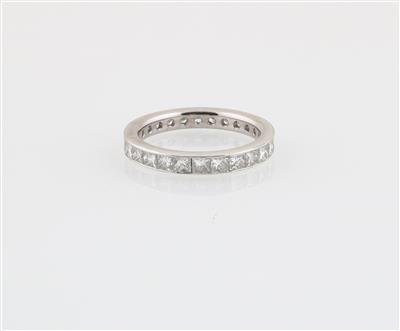 Diamantring zus. ca. 3 ct - Klenoty