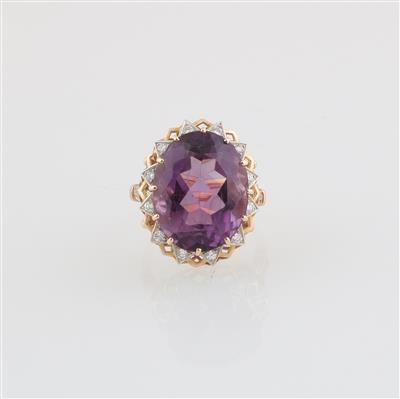 Brillant Amethyst Ring - Jewellery