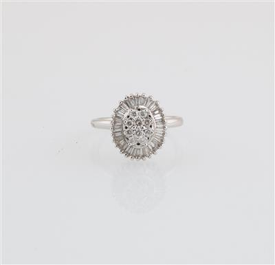 Diamantring zus. ca. 0,60 ct - Schmuck