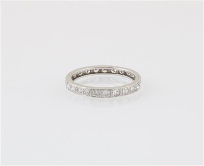 Diamantring zus. ca. 1 ct - Schmuck