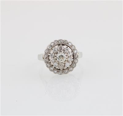 Diamantring zus. ca. 1,10 ct - Schmuck