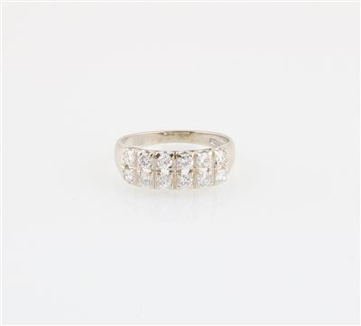 Brillantring zus. 0,72 ct - Schmuck