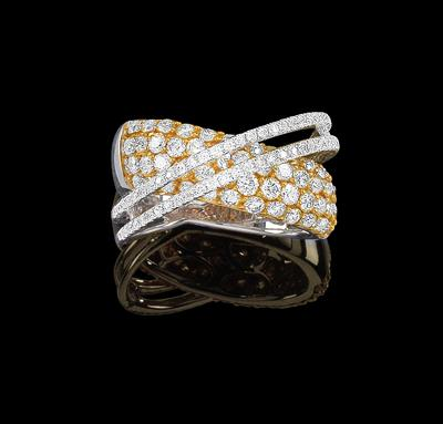 A brilliant ring total weight 2 2 ct - Klenoty