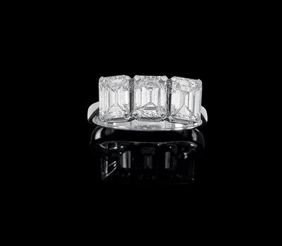 Diamantring zus. ca. 2,70 ct - Juwelen