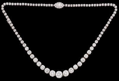 A Brilliant Necklace, Total Weight c. 12 ct - Gioielli
