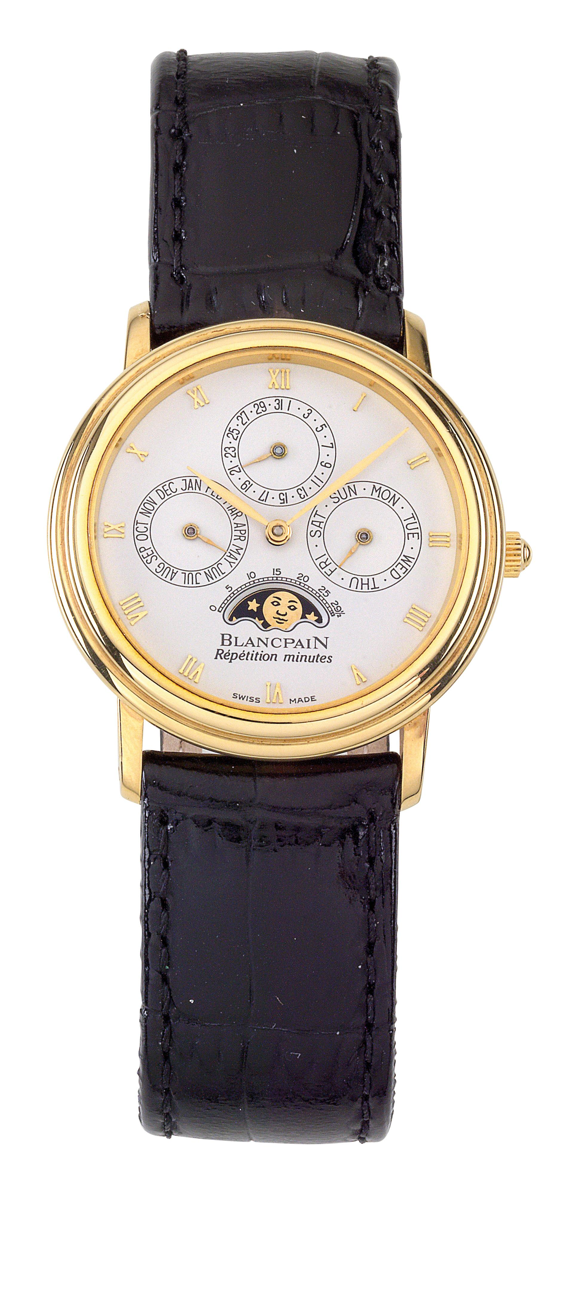 Blancpain Perpetual Calendar Repetition Minutes - Wrist- and