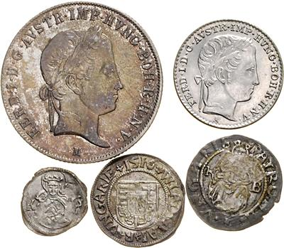 RDR/Österreich - Coins, medals and paper money
