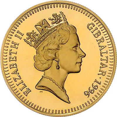 Elizabeth Ii Gold Coins Medals And