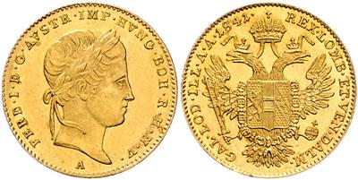 Ferdinand I. GOLD - Mince a medaile