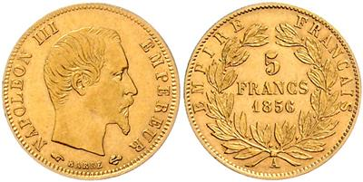 Napoleon III. 1852-1870 GOLD - Mince a medaile