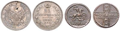 Russland - Coins and medals