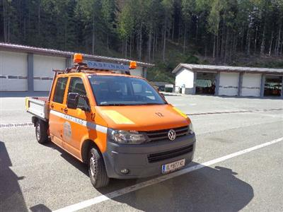 "LKW ""VW T5 Doka-Pritsche LR 2.0 TDI D-PF"", - Cars and vehicles ASFINAG & Vorarlberg"