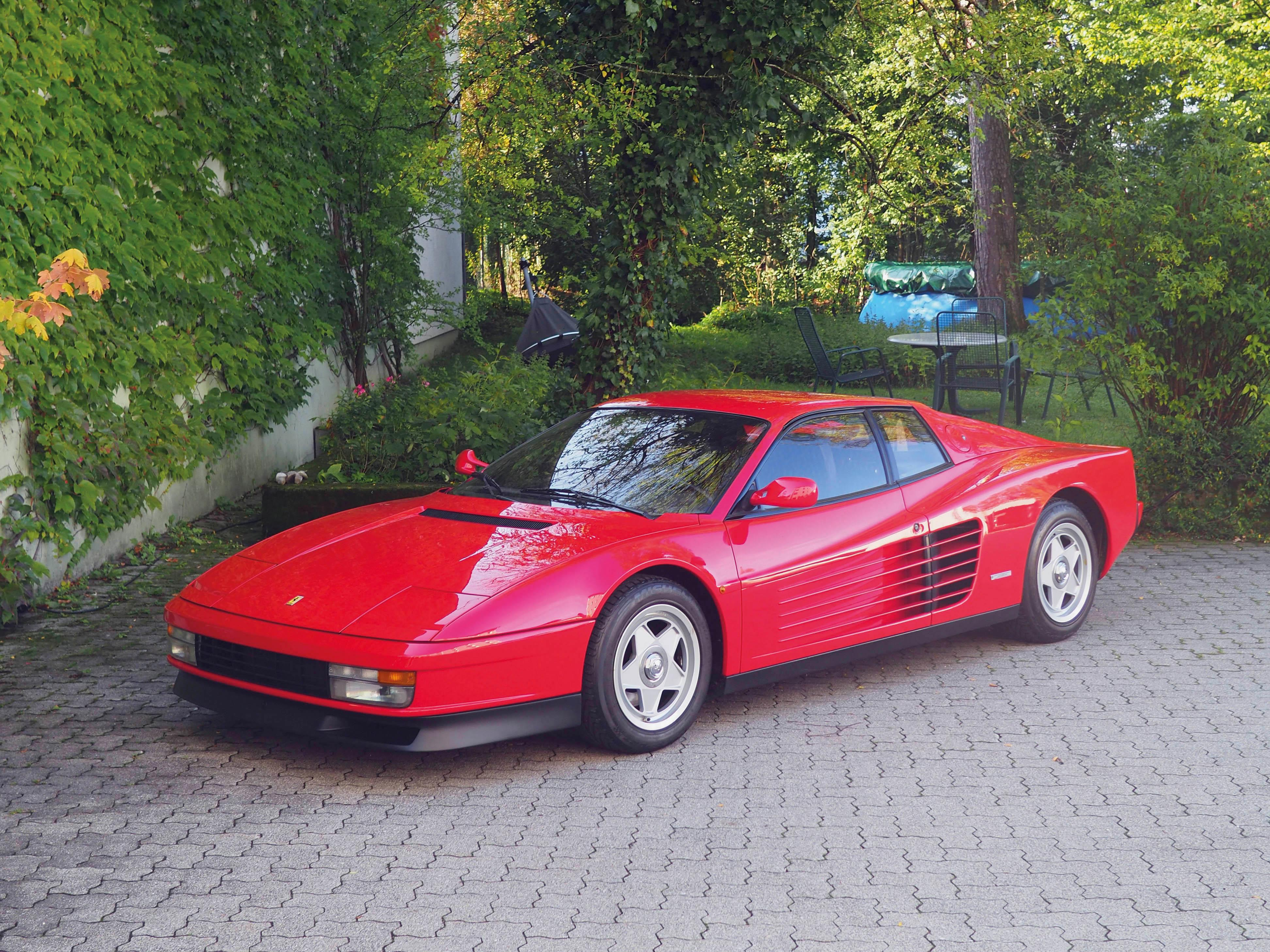 1987 ferrari testarossa monodado klassische fahrzeuge. Black Bedroom Furniture Sets. Home Design Ideas